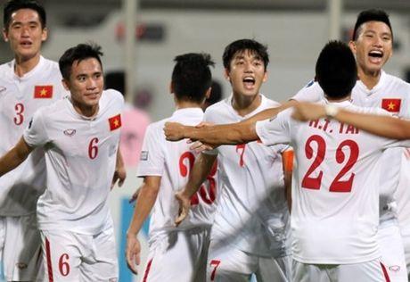 Xac dinh hai cap dau tai ban ket giai U19 chau A 2016 - Anh 1
