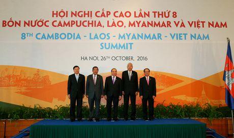 Tuyen bo chung Hoi nghi cap cao hop tac Campuchia- Lao – Myanmar – Viet Nam - Anh 2