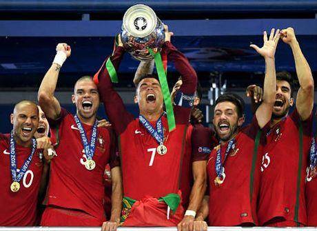 Dua QBV 2016: Ronaldo tu chac an bong kho nhan - Anh 2