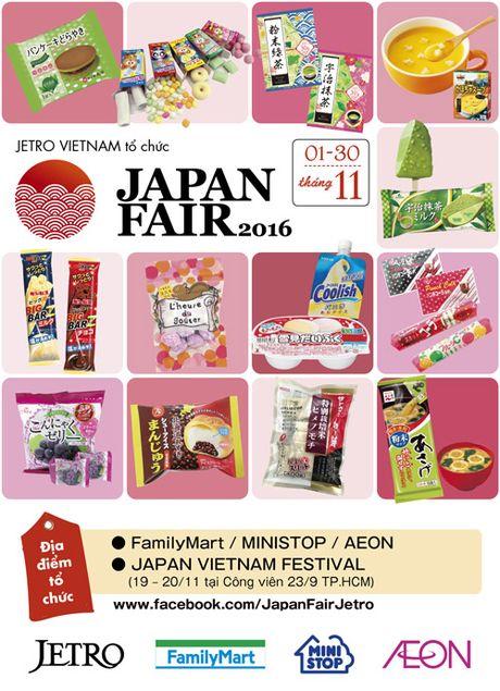 30 ngay mua sam cung Japan Fair 2016 - Anh 1