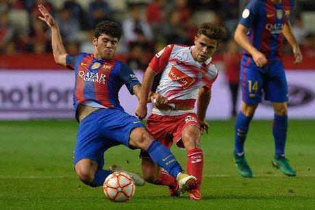 Barcelona - Espanyol: Khong Messi, khong chien thang - Anh 1