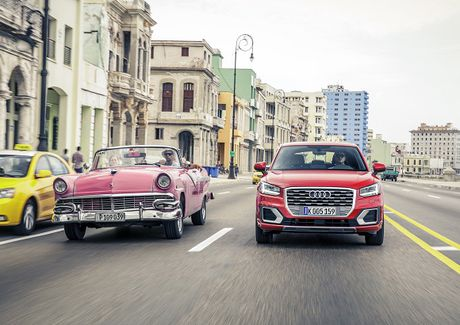 Audi Q2 - crossover nho hang sang chinh thuc ra mat tai Viet Nam - Anh 3