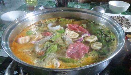 La bep - dac san rau rung Tay nguyen - Anh 3