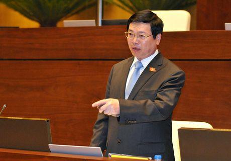Nguyen Bo truong Vu Huy Hoang: Khong the 'ha canh an toan'! - Anh 1