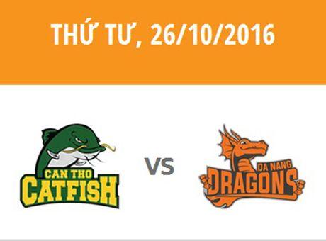 VBA 2016: Cantho Catfish vs DaNang Dragons - Anh 1