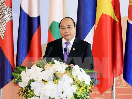 Khai mac Hoi nghi cap cao ACMECS 7 va CLMV 8 - Anh 1