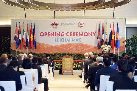 Khai mac Hoi nghi cap cao ACMECS 7 va CLMV 8 - Anh 3