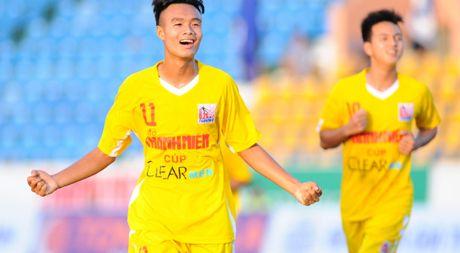 U.21 Ha Noi T&T 1-0 U.21 Sanna Khanh Hoa: Dat mot chan vao ban ket - Anh 1