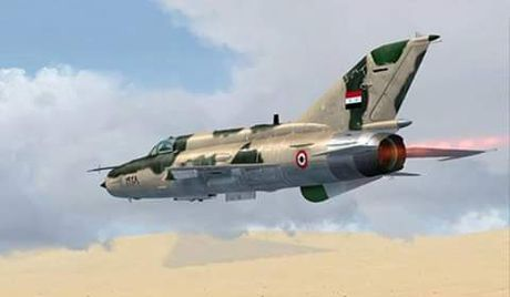 Khong quan Syria doi bom ac liet can cu IS o Aleppo - Anh 1
