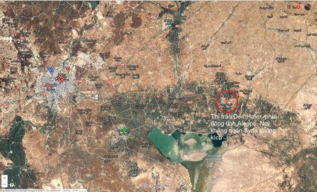 Khong quan Syria doi bom ac liet can cu IS o Aleppo - Anh 2