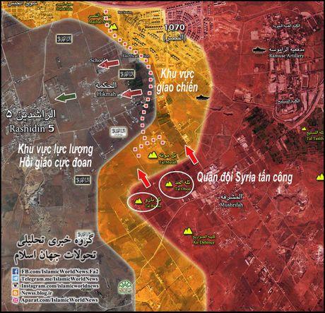 Quan doi Syria gianh hai ngon doi chien luoc nam Aleppo - Anh 1