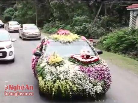 Nghe An: Xe hoa ruoc dau gay sot cong dong mang - Anh 1