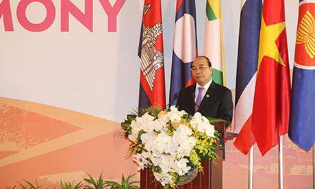 Khai mac hoi nghi cap cao Viet Nam va cac nuoc Mekong - Anh 1