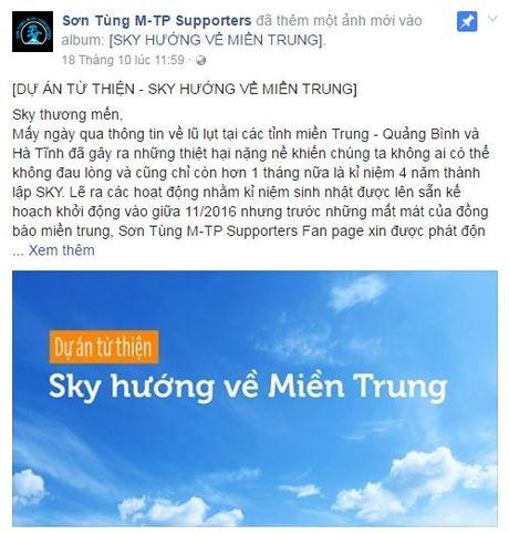 Son Tung: 'Bo ngoai tai du luan, Sky hay tiep tuc dem den cho doi that nhieu niem vui nhe' - Anh 1