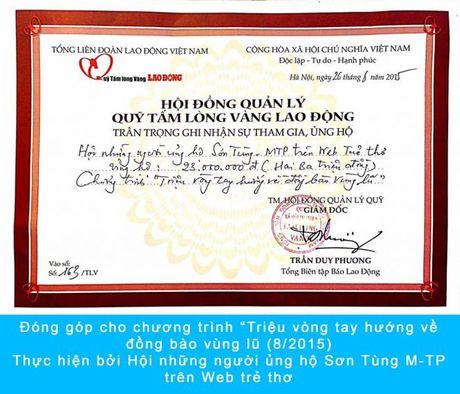 Son Tung: 'Bo ngoai tai du luan, Sky hay tiep tuc dem den cho doi that nhieu niem vui nhe' - Anh 3
