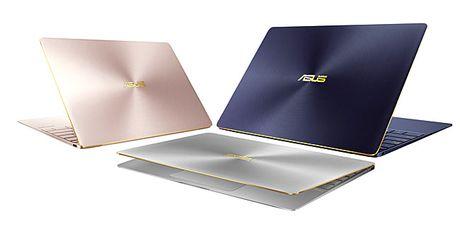 Sieu pham ZenBook 3 long lanh len ke tai Viet Nam - Anh 1