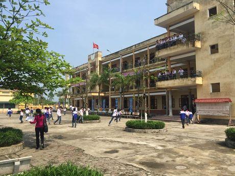 Thai Binh: Thay giao bi 3 thanh nien la mat hanh hung tai truong hoc - Anh 1