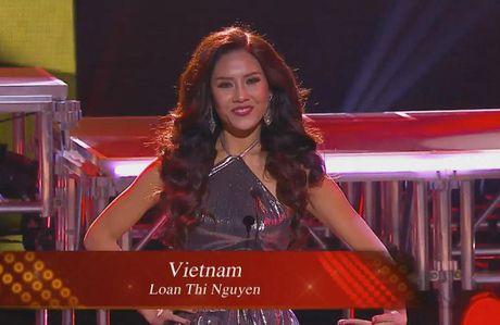 Nguyen Thi Loan vao Top 20 'Hoa hau Hoa binh The gioi' - Anh 1