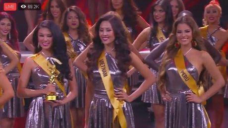 Nguyen Thi Loan vao Top 20 'Hoa hau Hoa binh The gioi' - Anh 2