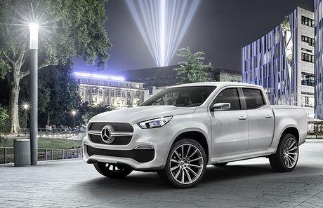 Mercedes-Benz lan dau tien gioi thieu xe ban tai - Anh 1