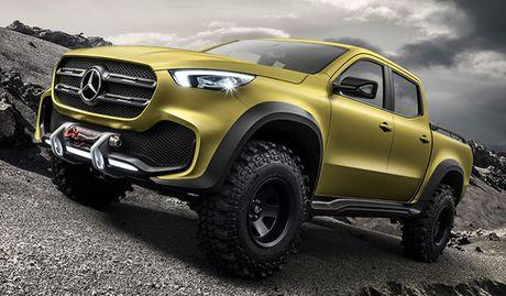 Mercedes-Benz lan dau tien gioi thieu xe ban tai - Anh 4