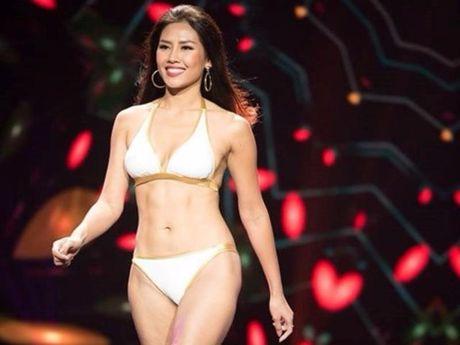 Nguyen Thi Loan thi bikini Hoa hau Hoa binh Quoc te - Anh 1