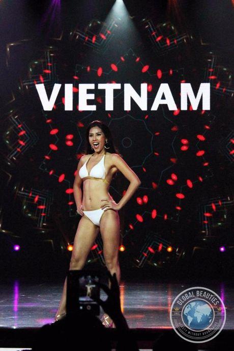 Nguyen Thi Loan thi bikini Hoa hau Hoa binh Quoc te - Anh 2