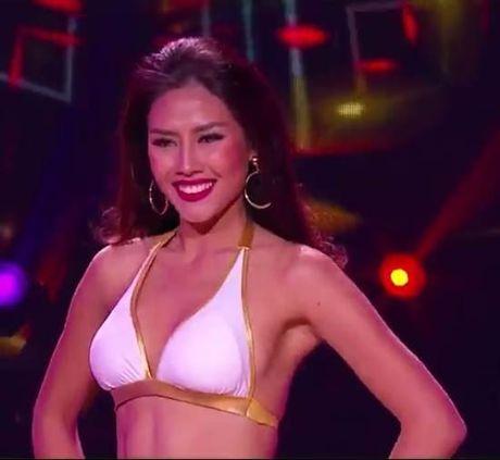 Nguyen Thi Loan thi bikini Hoa hau Hoa binh Quoc te - Anh 3