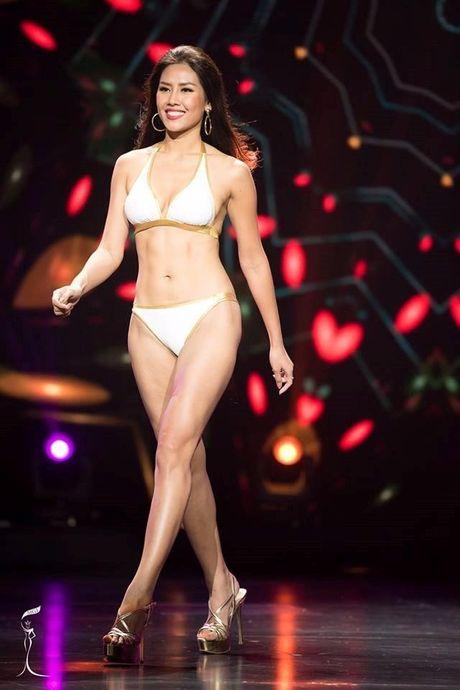 Nguyen Thi Loan thi bikini Hoa hau Hoa binh Quoc te - Anh 4