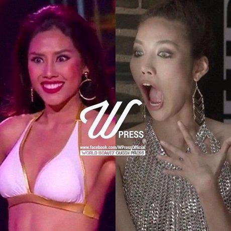 Nguyen Thi Loan thi bikini Hoa hau Hoa binh Quoc te - Anh 6