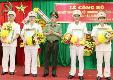 Pho cuc truong Cuc Tham muu An ninh lam GD Cong an Soc Trang - Anh 1