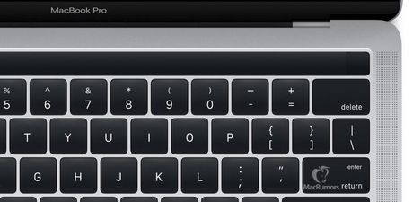 Apple vo tinh de lo anh ve MacBook moi truoc gio G - Anh 1