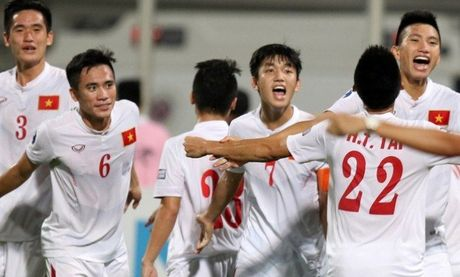 Lich thi dau ban ket U19 chau A, truc tiep U19 Viet Nam - Anh 1