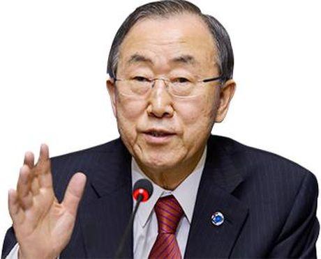 Ong Ban Ki-moon co the tranh cu Tong thong Han Quoc - Anh 1