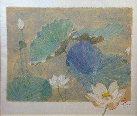 3 hoa si mang 'Gio thu' den Bao tang My thuat - Anh 1