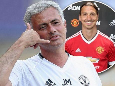 Den luc Mourinho cho Ibrahimovic du bi o Man United? - Anh 1