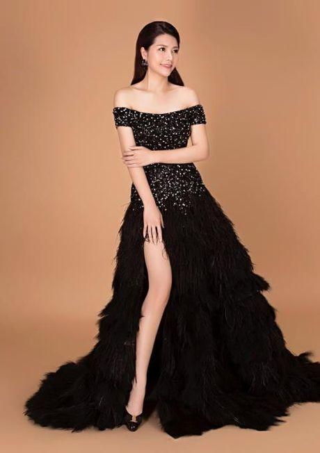 Xuan Thuy thay Tracy Hang Nguyen dai dien Viet Nam thi Hoa hau Quy ba The gioi - Anh 5
