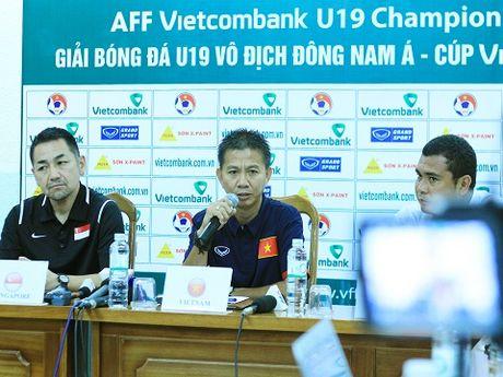 HLV Hoang Anh Tuan: 'U19 Viet Nam chi co mot ngoi sao duy nhat' - Anh 2