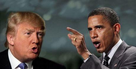 Ong Trump to Tong thong Obama 'gia tao', khang khang cho rang bau cu My 'gian lan' - Anh 2