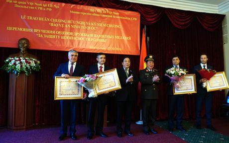 Ghi nhan dong gop cua Nga trong dao tao nhan luc an ninh Viet Nam - Anh 2
