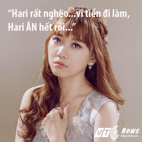 Hari Won va nhung 'tuyen ngon tinh yeu bat diet' danh cho do an - Anh 1