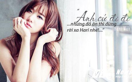 Hari Won va nhung 'tuyen ngon tinh yeu bat diet' danh cho do an - Anh 2