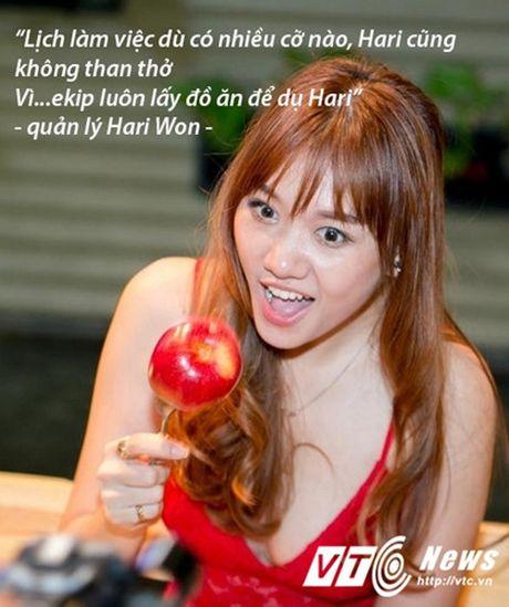 Hari Won va nhung 'tuyen ngon tinh yeu bat diet' danh cho do an - Anh 3