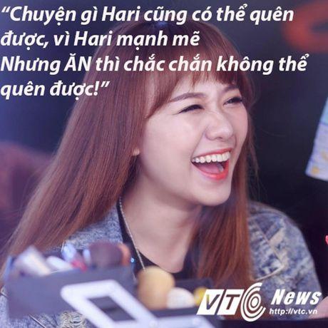 Hari Won va nhung 'tuyen ngon tinh yeu bat diet' danh cho do an - Anh 9