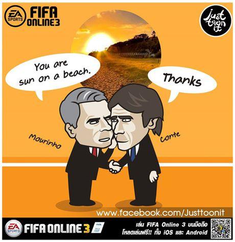 Biem hoa 24h: Van Gaal, Moyes du do Mourinho gia nhap 'hoi thuoc ngu' - Anh 1