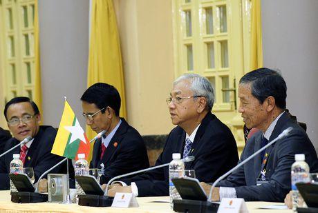 Hinh anh le don Tong thong Myanmar tham chinh thuc Viet Nam - Anh 10