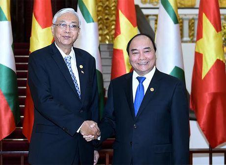 Hinh anh le don Tong thong Myanmar tham chinh thuc Viet Nam - Anh 11