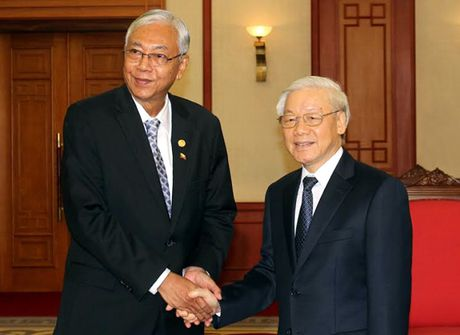 Hinh anh le don Tong thong Myanmar tham chinh thuc Viet Nam - Anh 13