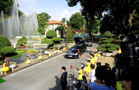 Hinh anh le don Tong thong Myanmar tham chinh thuc Viet Nam - Anh 2