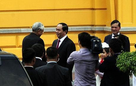 Hinh anh le don Tong thong Myanmar tham chinh thuc Viet Nam - Anh 3